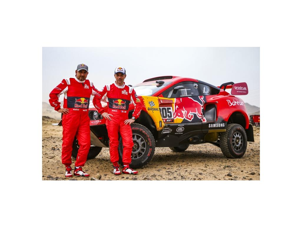 2021 Dakar rally featuring P4P windows